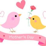 母の日小鳥