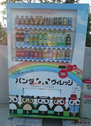 パンダ自動販売機