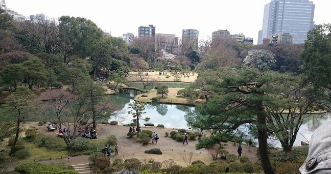六義園 庭園